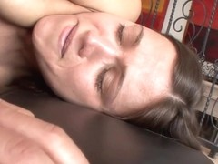 Brenda James finger fucks Alyssa Reece's moist pussy