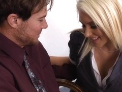 Katie Summers & Justin Magnum in Naughty Office