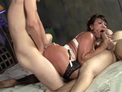 Horny Ava Devine Gets Double Penetrated