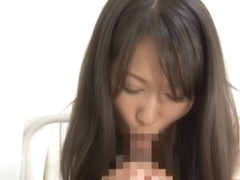Kozue Hirayama nasty Asian milf in her office suit