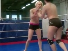 NudeFightClub presents Paige Fox vs Lucy Bell
