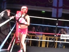 Glamour Girl Boxing - Toni Wildish v Summer Angel