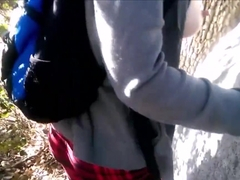 Outdoor Blow Job, Facial and Cum Play in the Park