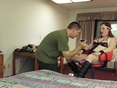 Drunk Tied up and fucked hard in the ass