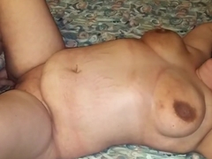 Wife with stranger for the first time