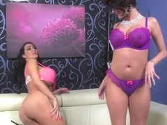 Joslyn James and Amy Anderson Hot Big Boob Lesbian - JoslynJames