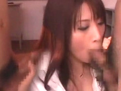Amazing Japanese slut Junna Aoki in Crazy Stockings, Cougar JAV scene