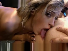 Anal and Cum for Gorgeous Ria Sunn - German Goo Girls