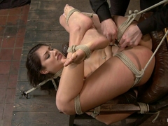 Scarlet Banks in Scarlet Banks Cums To HogTied - HogTied