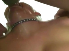 Extreme rough and deep blowjob