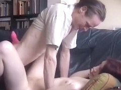 Crazy homemade blowjob, reversed cowgirl, doggystyle adult video