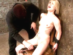 Ambrosial Ash Hollywood featuring real BDSM action