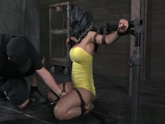 E Cup MILF Sheila Marie tied up pt 1
