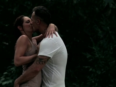 Hottest pornstar Felicia Kiss in Amazing Outdoor, Romantic xxx clip