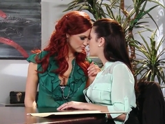Office seduction by Jayden Cole and Taylor Vixen