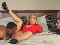 Cuck Watches Wife Pounded By A Big Black Cock