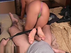 Lexi Lapetina - Tickle footjob