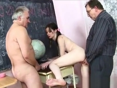 Lustful Old Man Cheated On His Wife With A Lustful Teen