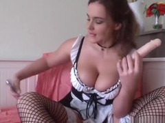 Maid Natasha does a special Halloween Anal Movie!
