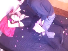 Valentine's Day Photoshoot Goes Wrong Cute Petite Girl Tricked,Cuffed&Fuck