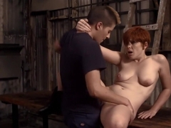 Incredible pornstars Jess Gatsby and Lily Cade in amazing redhead, blowjob porn scene
