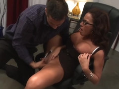 Adriana DeVille nailed in her tight snatch