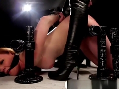 Marie McCray bondaged and domintaded by her dominatrix