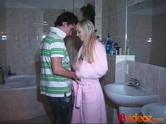 18videoz - Teena Lipoldino - Teeny welcomed to a new city