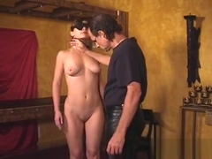 Delicious Teenager Gets Spanked Hard And Tied To A Chair