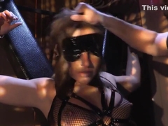 Blindfolded And Bound, Abella Danger Just Laughs With...