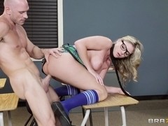 Big Tits at School: Welcome to the Slut Club. Brianna Brooks, Johnny Sins