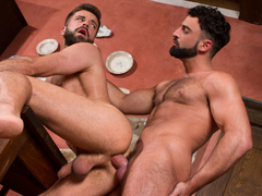 Abraham Al Malek & Hector de Silva in Hung Country, Scene #01 - RagingStallion