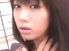 Horny Japanese model Mai Nadasaka in Best Threesomes, Fingering JAV clip