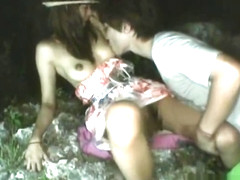 Akina Lovely Asian doll enjoys outdoor part5
