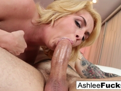Ashlee Graham in Cupcake Delivery Girl Gets Mistaken For A Strippergram - AshleeGraham