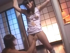 Fabulous Japanese whore Asuka Kyono in Horny Couple, BDSM JAV clip