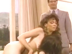 Christy Canyon, Bridgette Monroe & Mike Horner