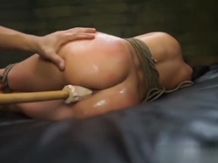 Rough Anal In Bondage For Latina Hottie Esmi Lee