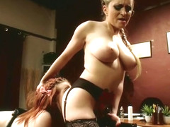 Fisting sex video featuring Sadie Kennedy and Aiden Starr