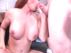 Hard Style Sex Practice On Cam By Big Round Tits Housewife (Diamond Foxxx) video-15