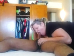 Amateur Bbw Milf Nensy From Serbia Doing Homemade Blowjob