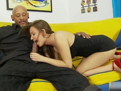 Pressley Carter Gets A Rock Solid Dick