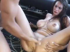 Hot mom porn video featuring Busty Ana and Ana Ribera