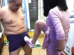 Asian Daddy Ball Busting And Rough FJ