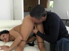 Curvy Black Girl Mia Austin Gets Nailed