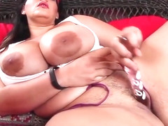 Angelina Castro play time with her phat wet squirting muff