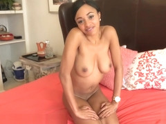 Anya Ivy talks then fingers herself