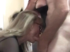 Mature sex video featuring Nina Hartley and Sexy Vanessa
