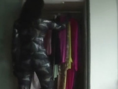 masked and zentai in my closet