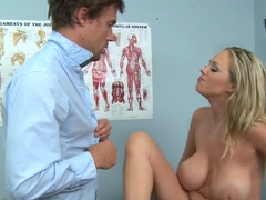 Katie Kox and Richie indulges their genitals